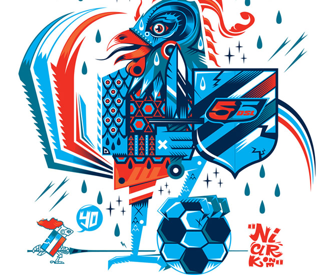 55DSL x Panini World Cup T-Shirt Designs