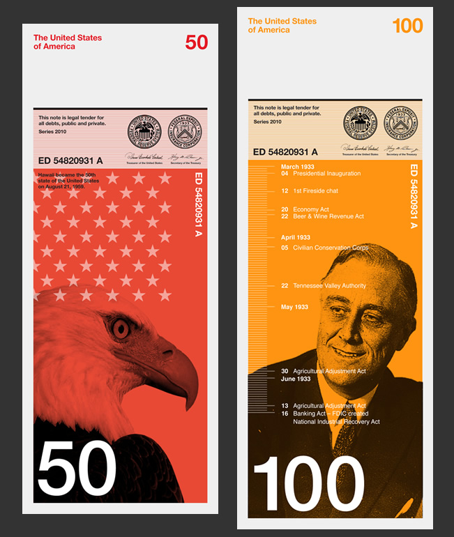 Dowling Duncan US Bank Note Concept