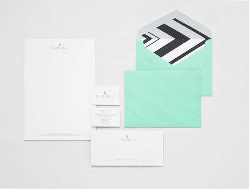 Claridges Rebrand by Construct