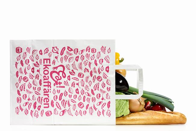Eat! Ekoaffären Brand Identity