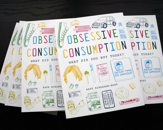 Obsessive Consumption by Kate Bingaman-Burt on The Import