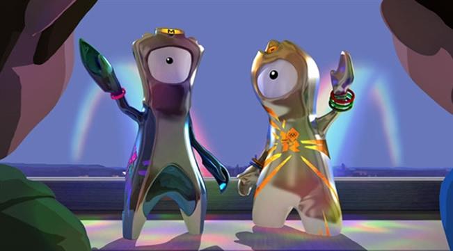 London 2012 Olympic Mascots