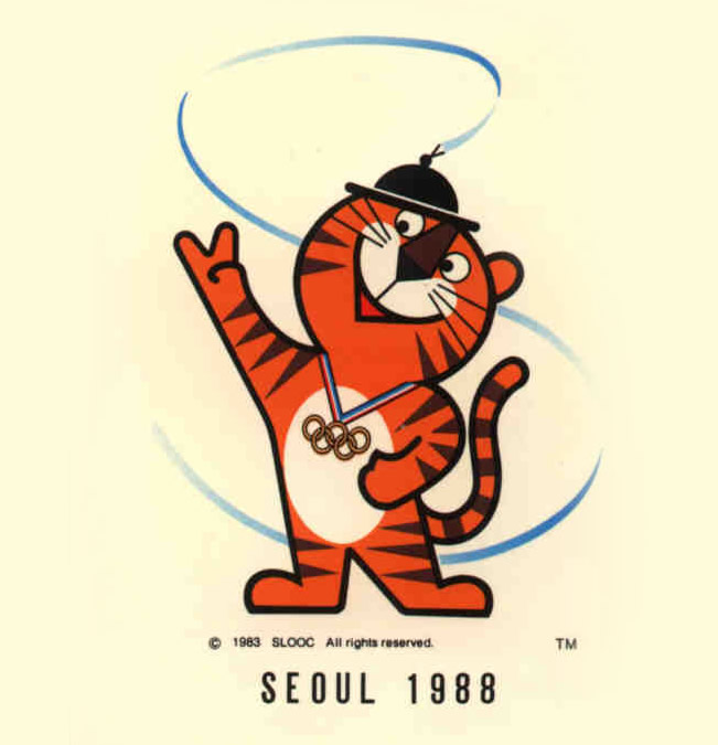 1988 - Hodori - Seoul (South Korea)