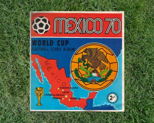 Panini World Cup Sticker Albums Mexico 1970