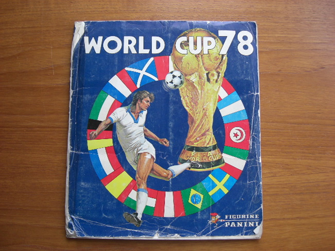 Panini World Cup Sticker Albums Argentina 1978