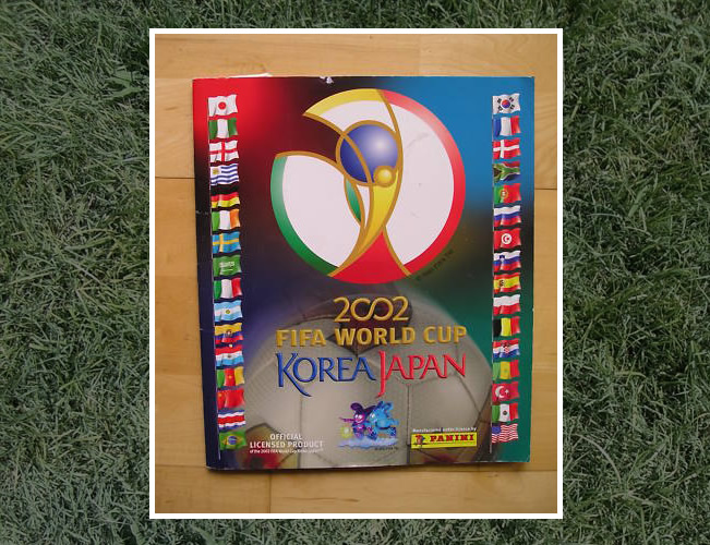 Panini World Cup Sticker Albums Korea/Japan 2002