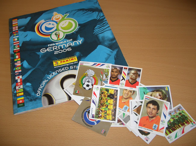 Panini World Cup Sticker Albums Germany 2006