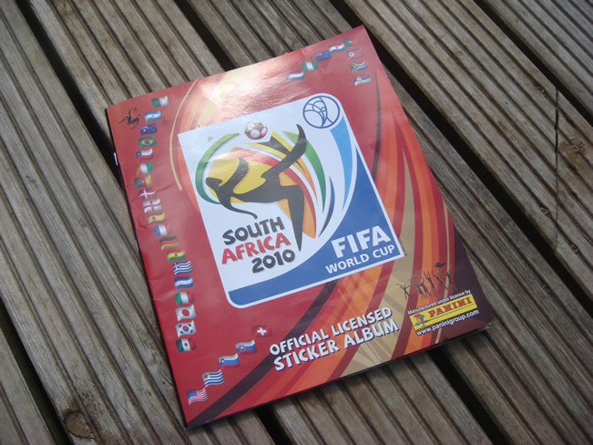 Panini World Cup Sticker Albums on The Import