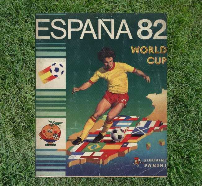 Panini World Cup Sticker Albums Spain 1982