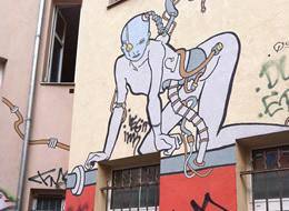 Berlin Street Art on The Import