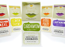 Botanical Bakery Packaging on The Import