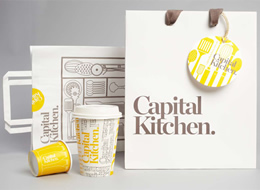 Capital Kitchen Branding on The Import