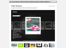 Apple HTML5 on The Import