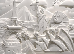 Jeff Nishinaka Paper Sculptures on The Import