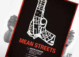 Mean Streets Poster on The Import