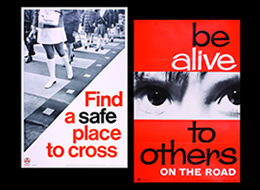 Vintage Road Safety Posters on The Import